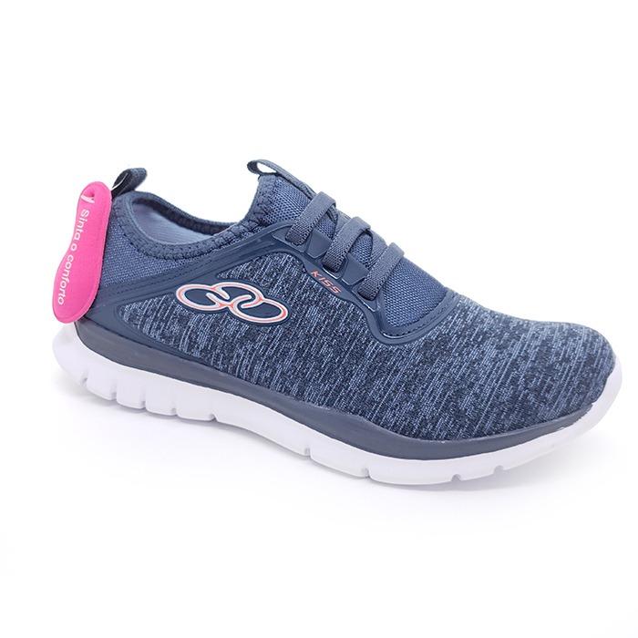 bb2f9feb131 Tênis Olympikus Feminino Kiss Petróleo Azul – Schvambach Calçados