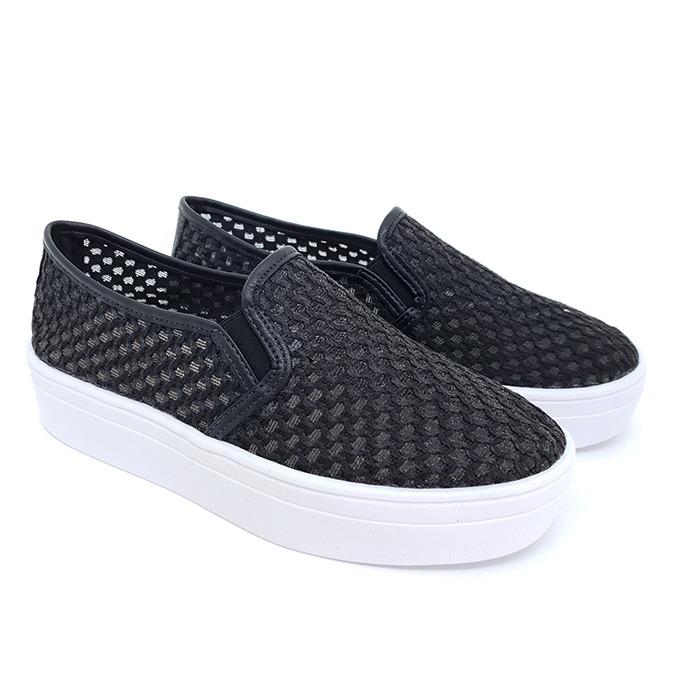 16bef8aa8 Tênis Slip On Flatform FF Shoes Tricô Preto – Schvambach Calçados